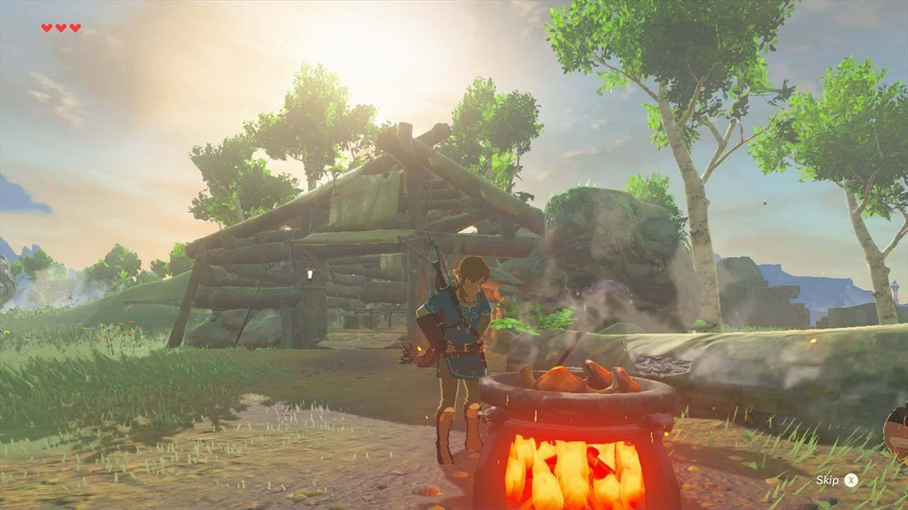 The Legend Of Zelda Breath Wild Switch